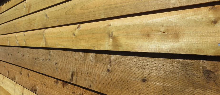 Cladding profiles star timbers
