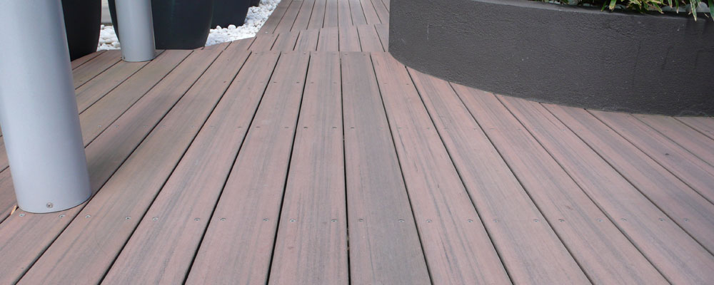 What is composite decking spillo caves for Modern view decking
