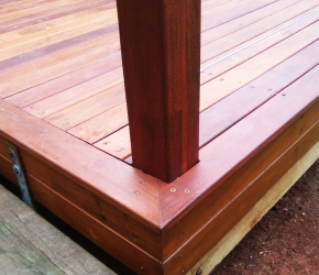 Giving 2nd grade decking timber a second chance